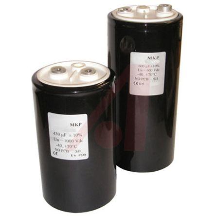 KEMET 600μF Polymer Capacitor 900V dc, Screw Mount - C44UOGQ6600F8SK