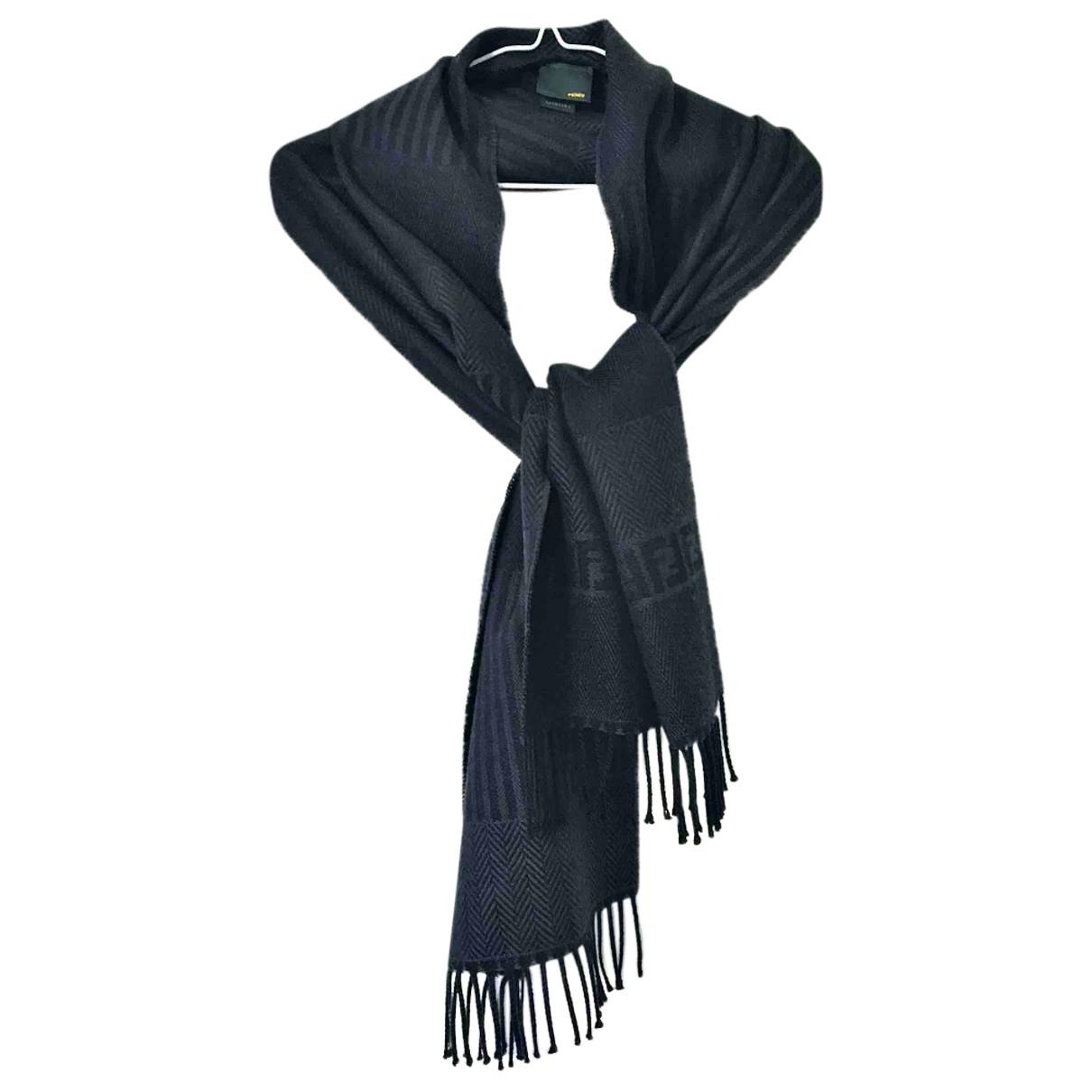 Fendi \N Brown Wool scarf for Women \N