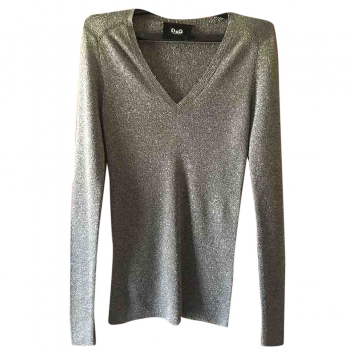 D&g \N Pullover in  Metallic Synthetik