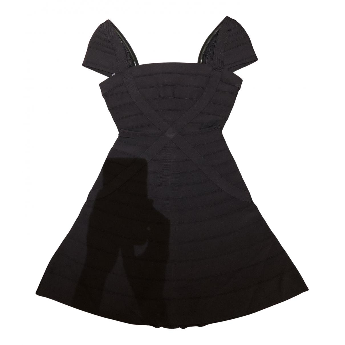 Herve Leger \N Kleid in Synthetik
