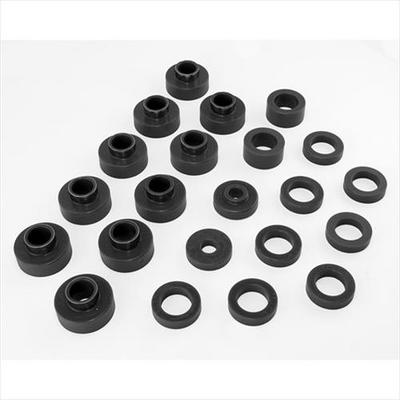 Prothane Body Mount Kit (Black) - 1-103-BL