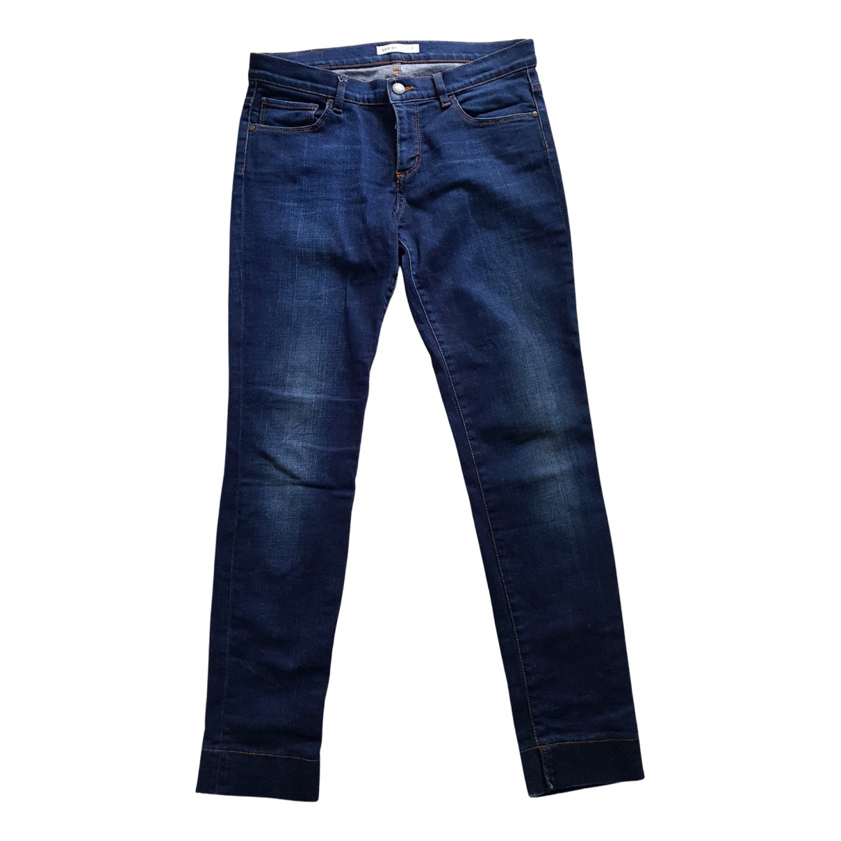 See By Chloé N Blue Cotton Jeans for Women 26 US