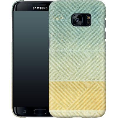 Samsung Galaxy S7 Edge Smartphone Huelle - Triangles Artifact von Brent Williams