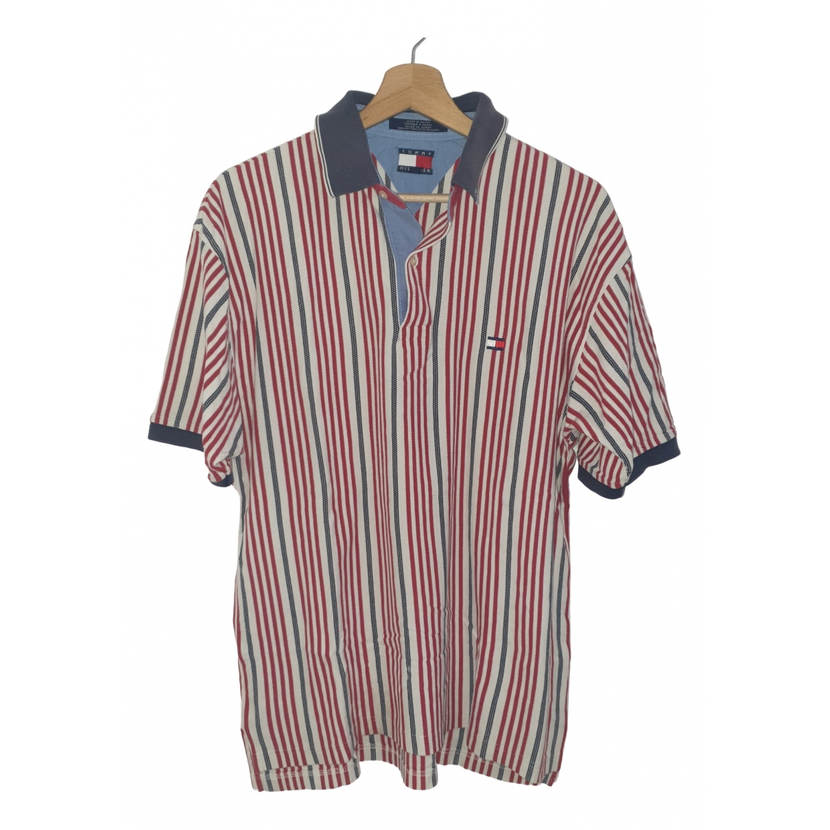 Tommy Hilfiger \N Red Cotton Polo shirts for Men M International