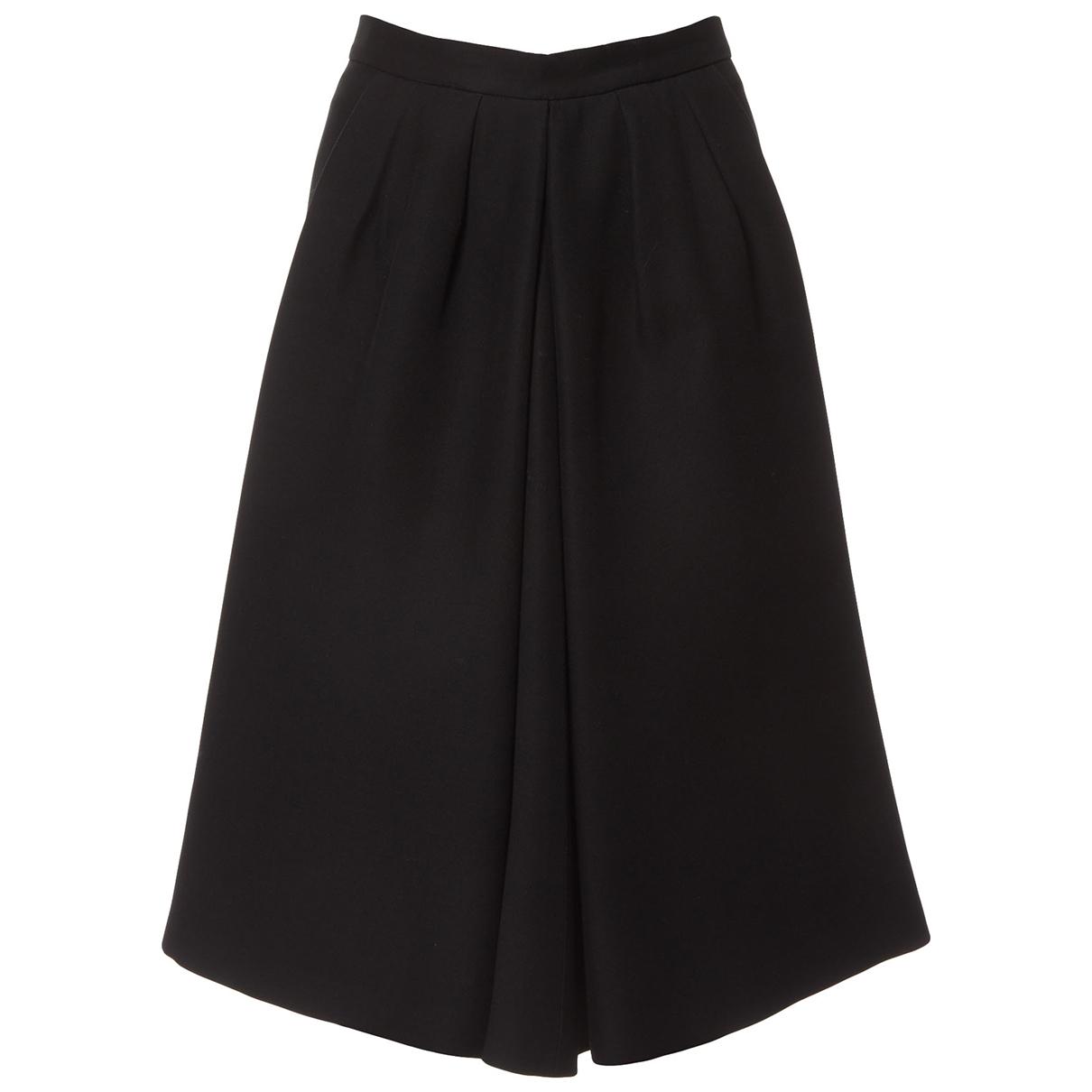 Christian Dior \N Black Wool skirt for Women 36 FR
