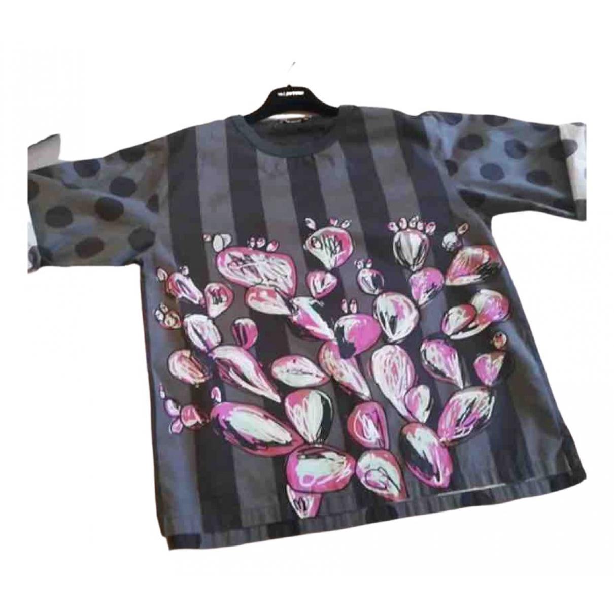 Dolce & Gabbana \N Multicolour Cotton  top for Women 44 IT