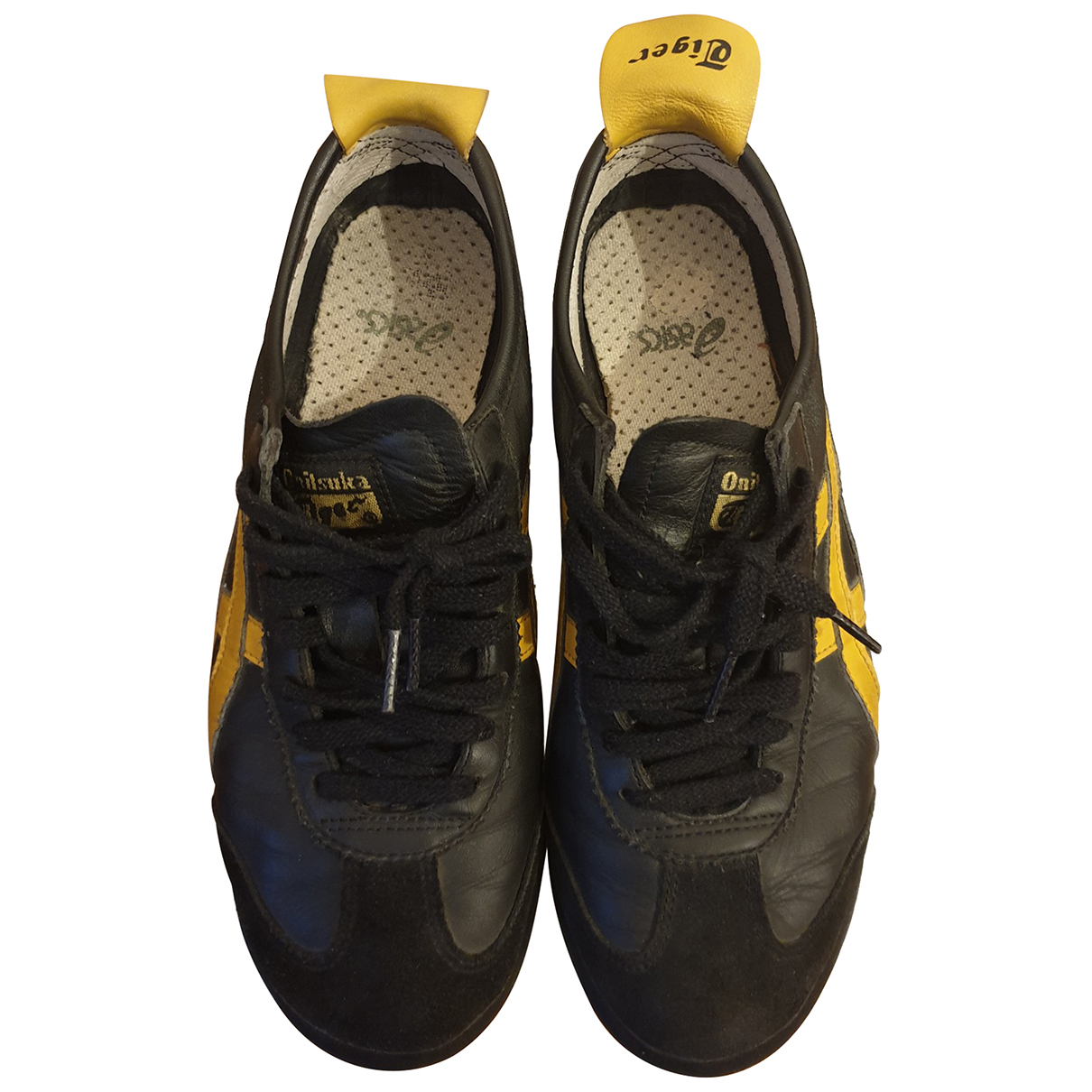 Onitsuka Tiger N Black Leather Trainers for Women 40.5 EU