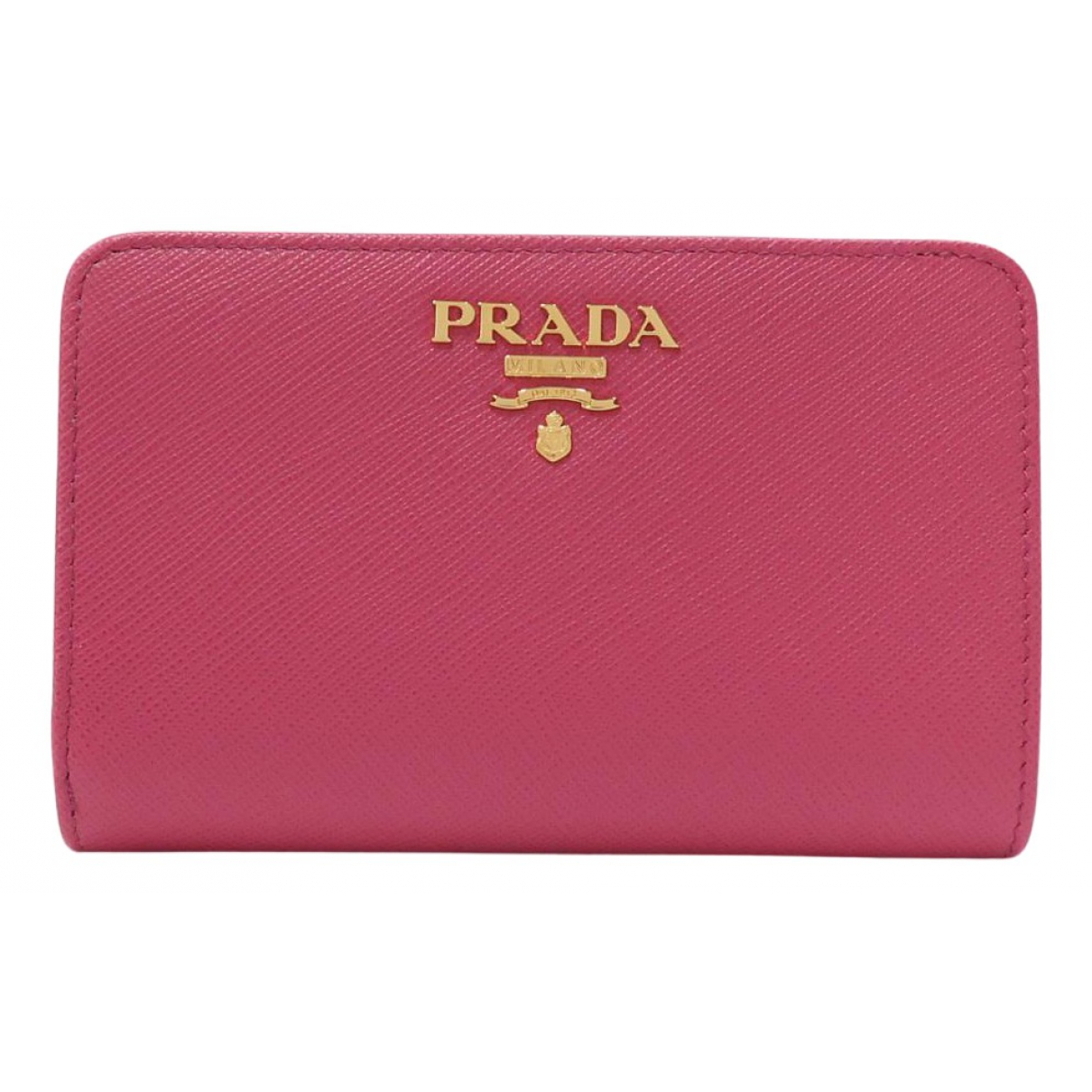 Prada N Pink Leather wallet for Women N
