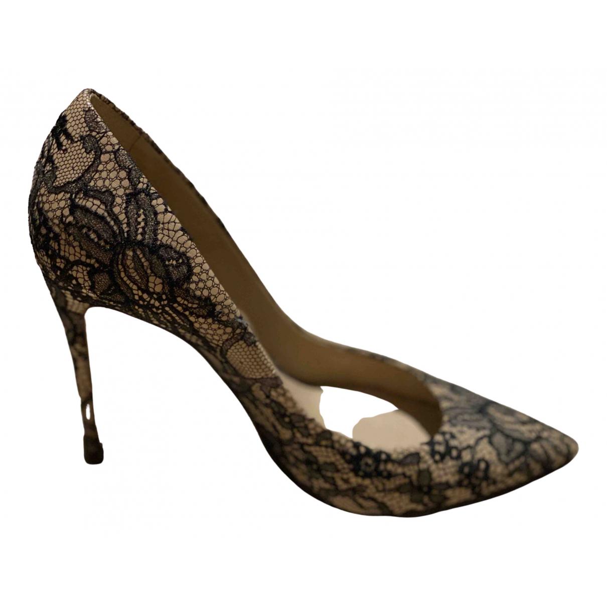 Dolce & Gabbana - Escarpins   pour femme en toile - beige