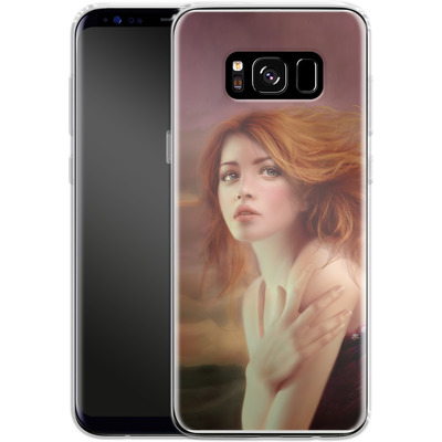Samsung Galaxy S8 Silikon Handyhuelle - Melanie Delon - Hope von TATE and CO