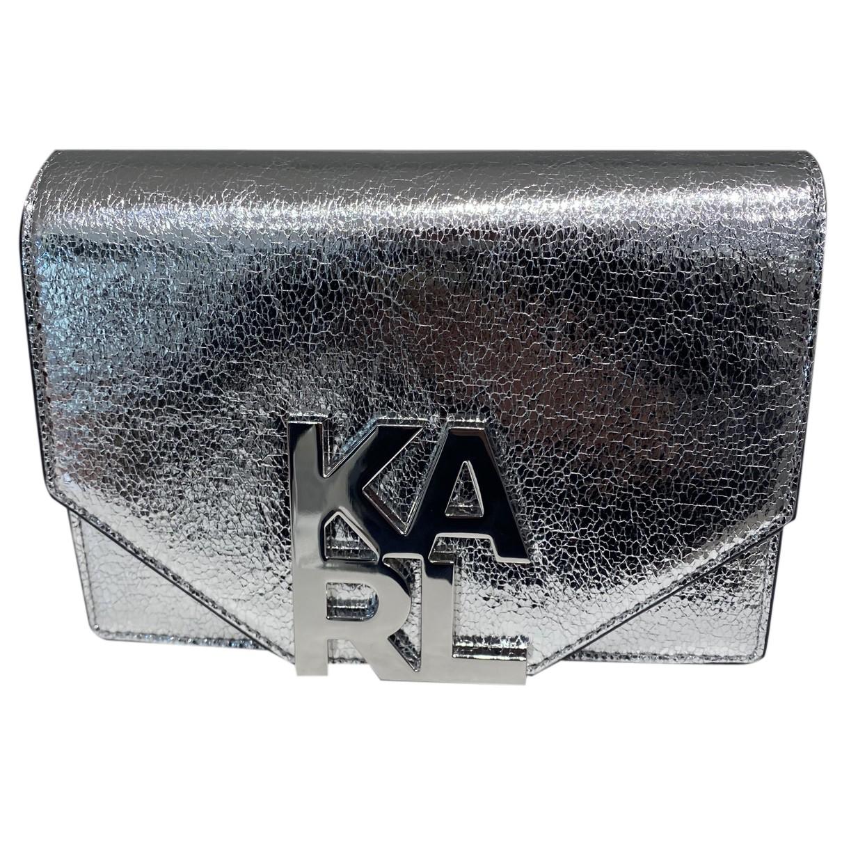 Pochette de Cuero Karl Lagerfeld