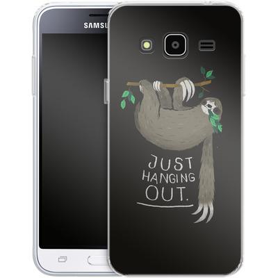 Samsung Galaxy J3 (2016) Silikon Handyhuelle - Just Hanging Out von Louis Ros