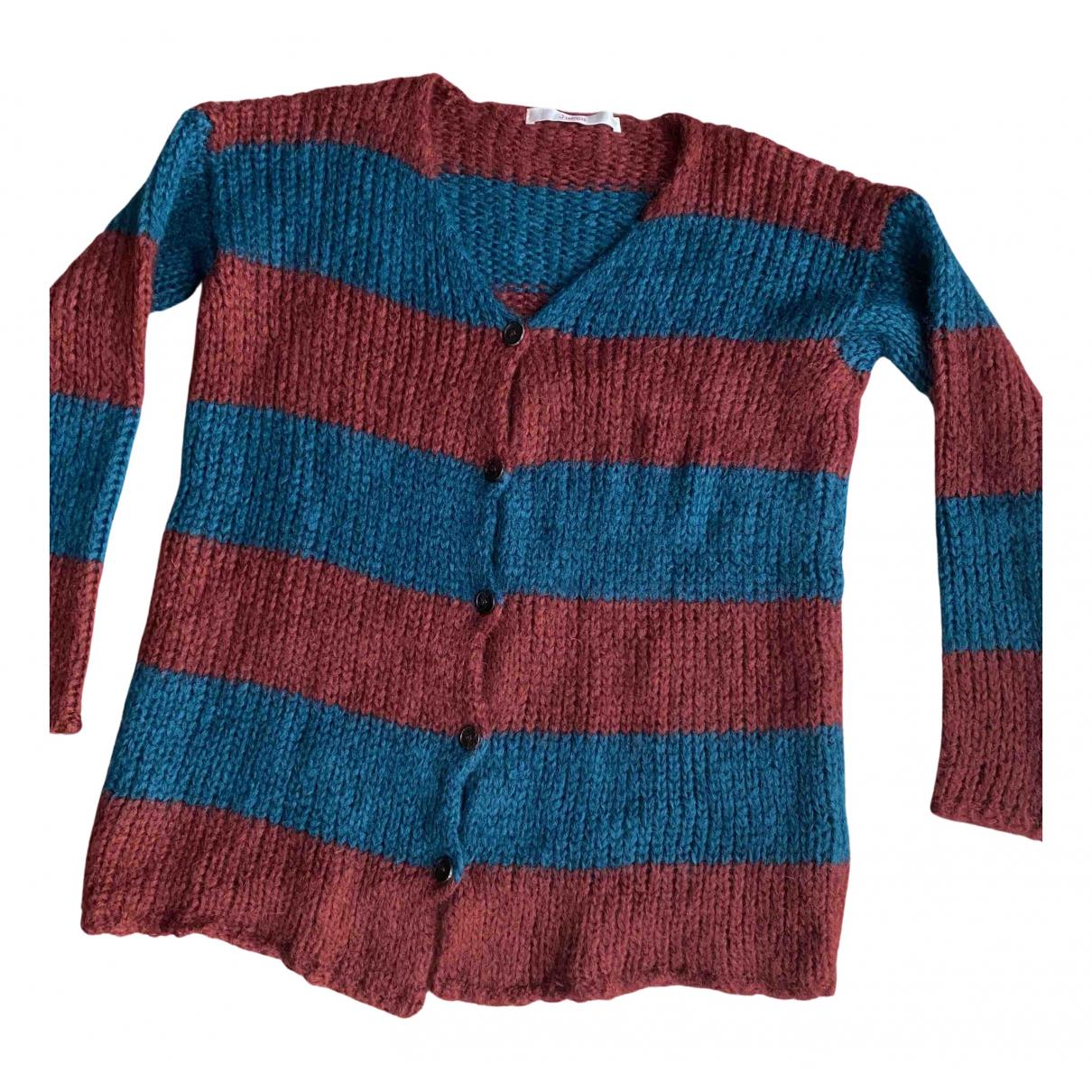 Jucca - Pull   pour femme en laine - multicolore