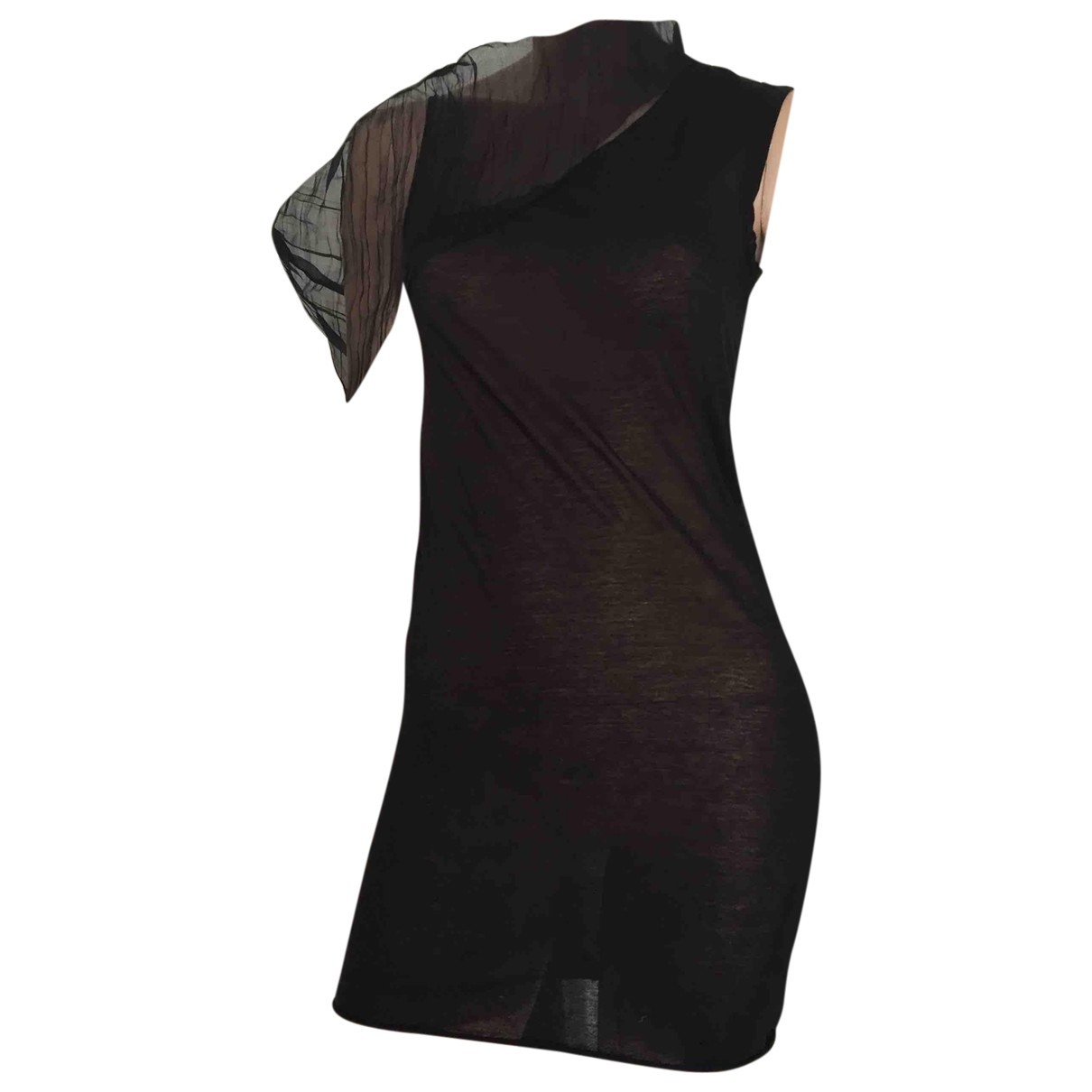Rick Owens N Black Silk  top for Women S International