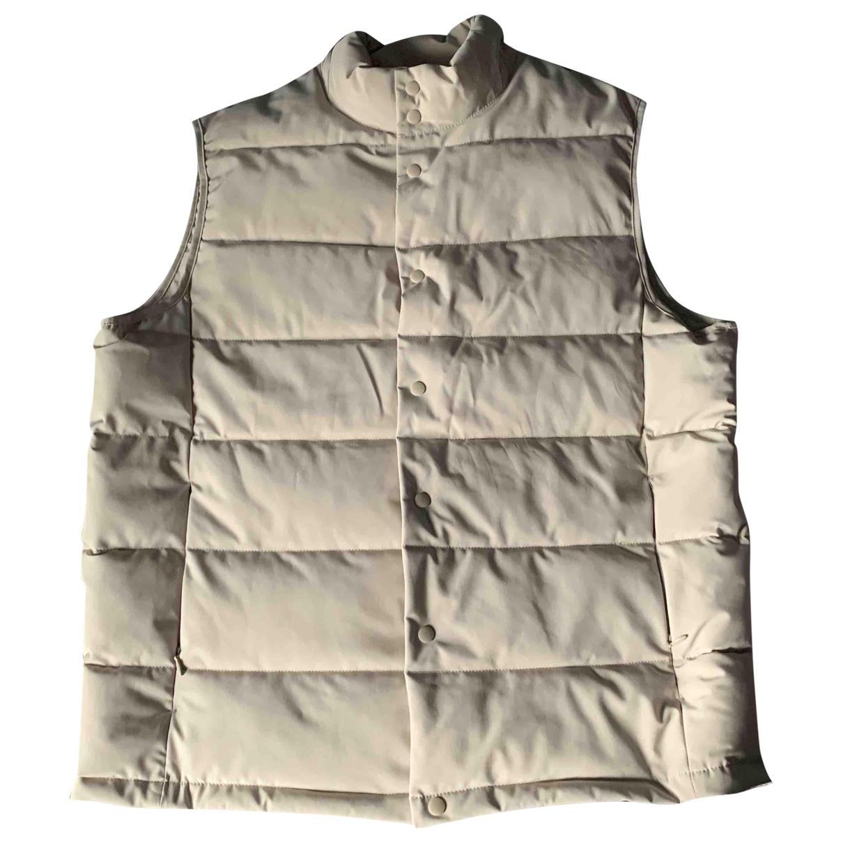 Zara \N Pullover.Westen.Sweatshirts  in  Beige Polyester