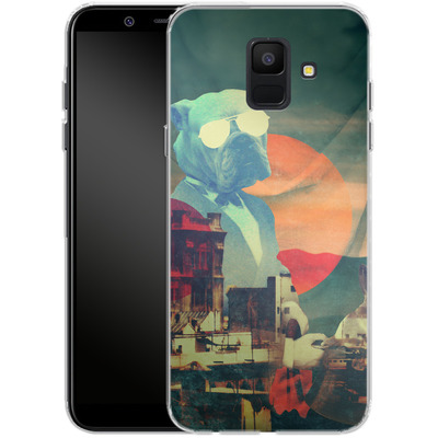 Samsung Galaxy A6 Silikon Handyhuelle - Abracadabra von Ali Gulec