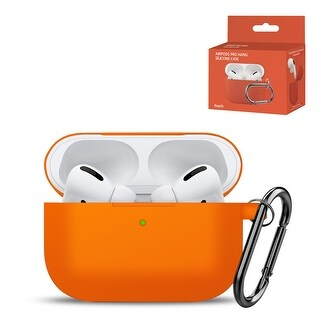 High Quality Case for Airpods Pro (Orange)