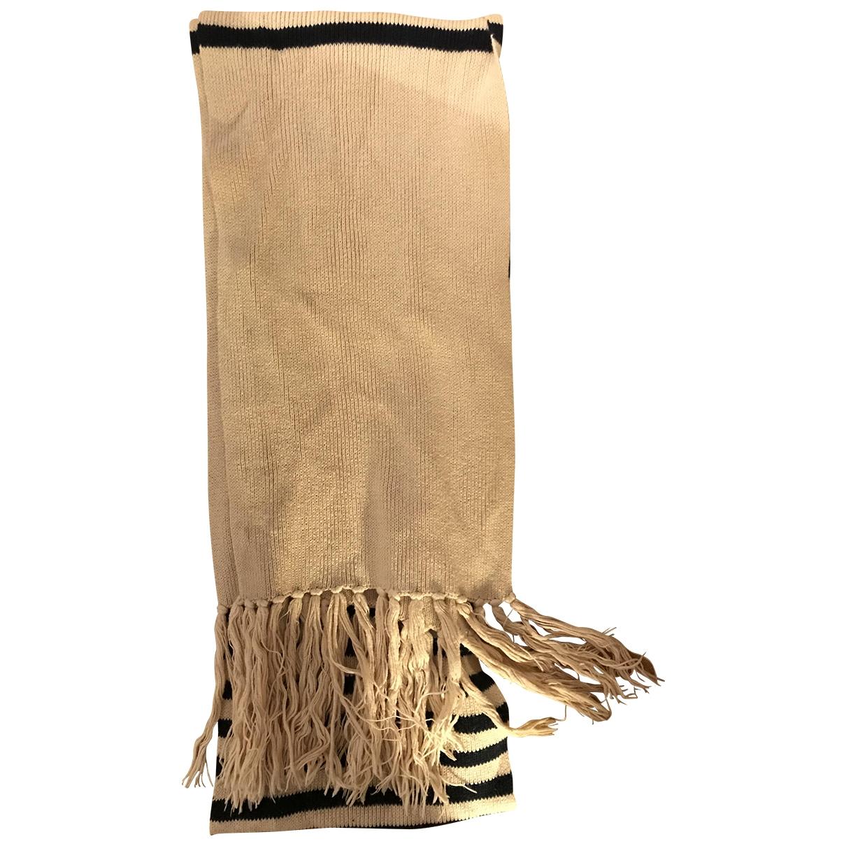 Apc - Foulard   pour femme en coton - ecru