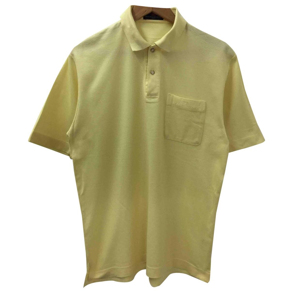 Balenciaga \N Poloshirts in  Gelb Baumwolle