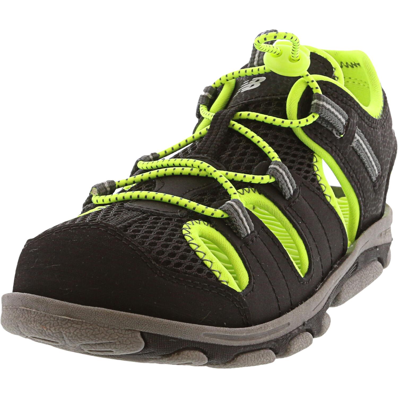 New Balance Boy's Adirondack Black / Lime Low Top Sport Sandals & Slide - 3M