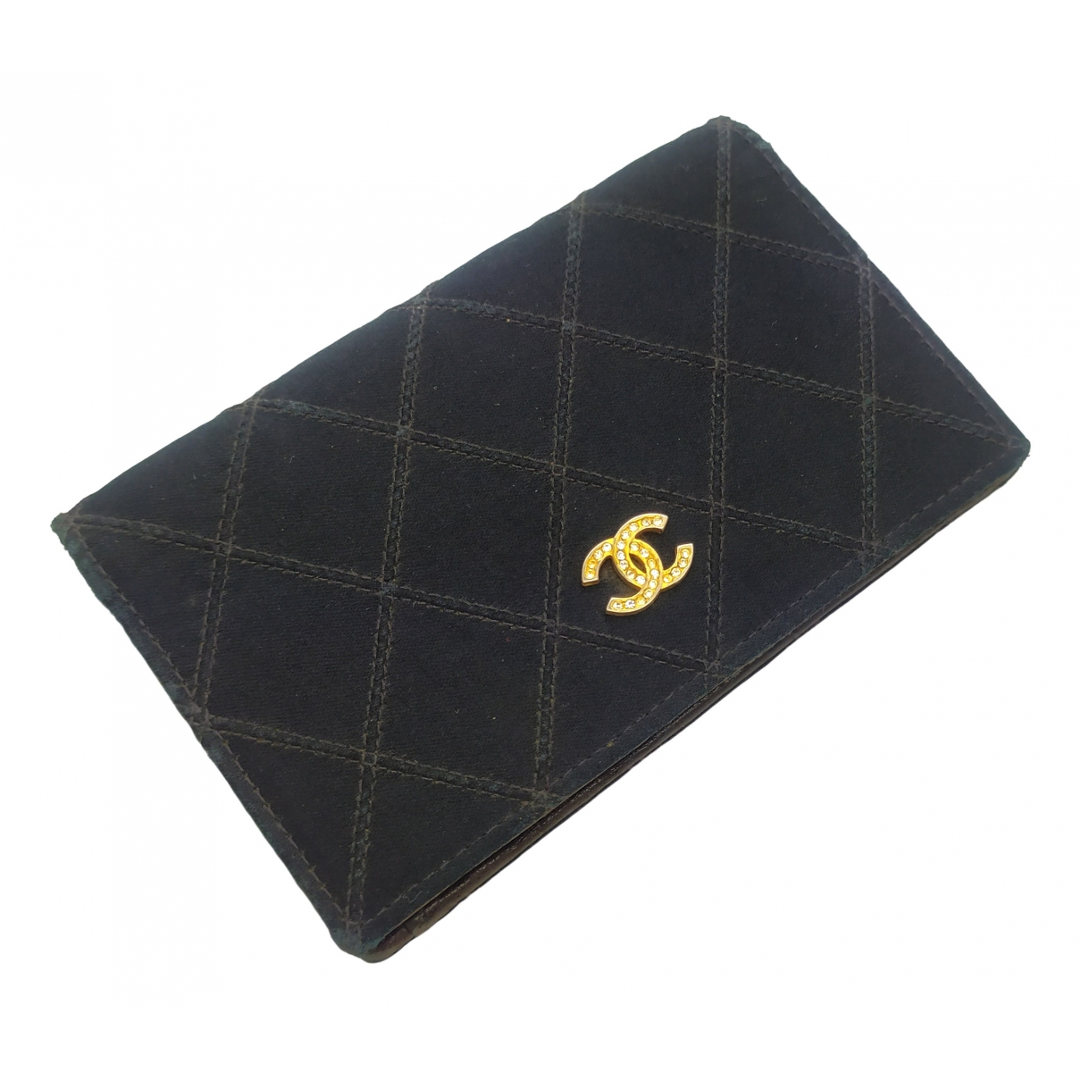 Chanel \N Black Cloth wallet for Women \N