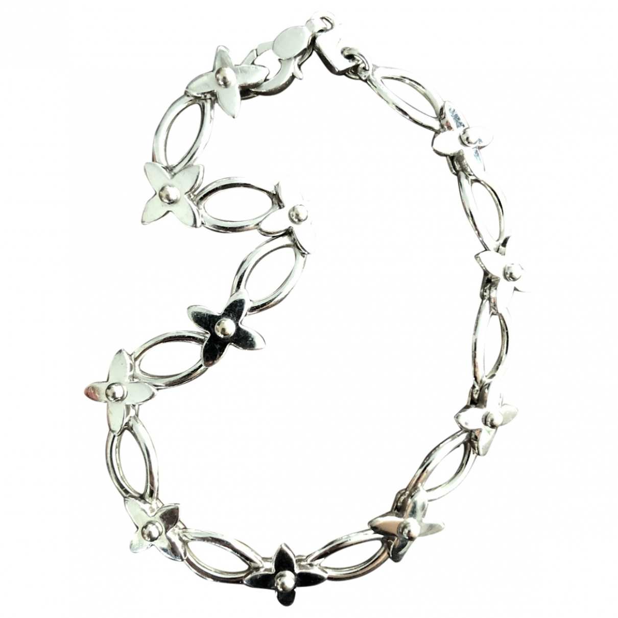 Louis Vuitton Idylle Blossom Armband in  Grau Weissgold