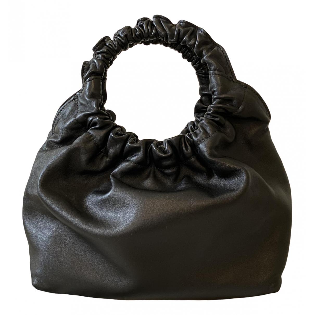 The Row \N Black Leather handbag for Women \N
