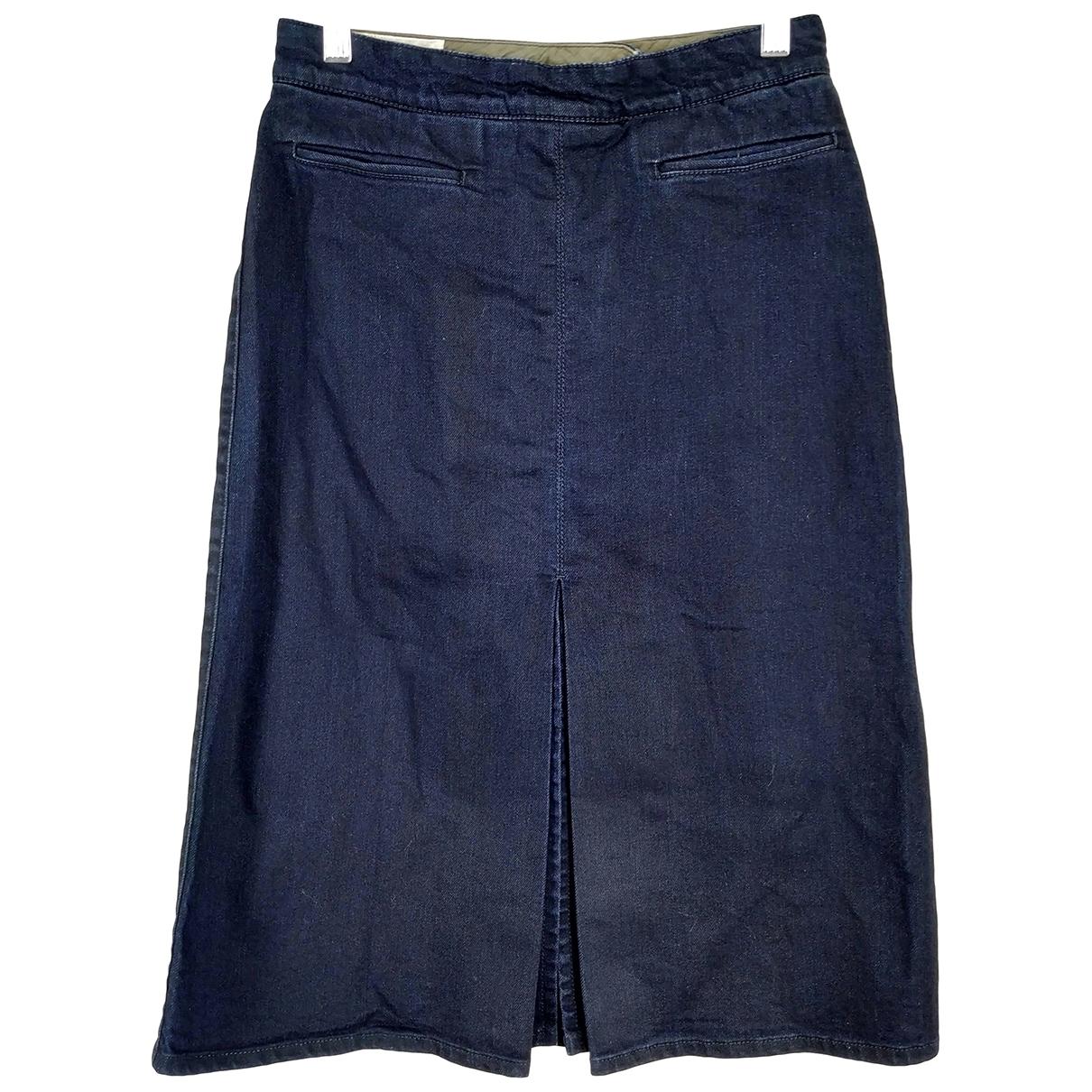 Stella Mccartney - Jupe   pour femme en denim - bleu