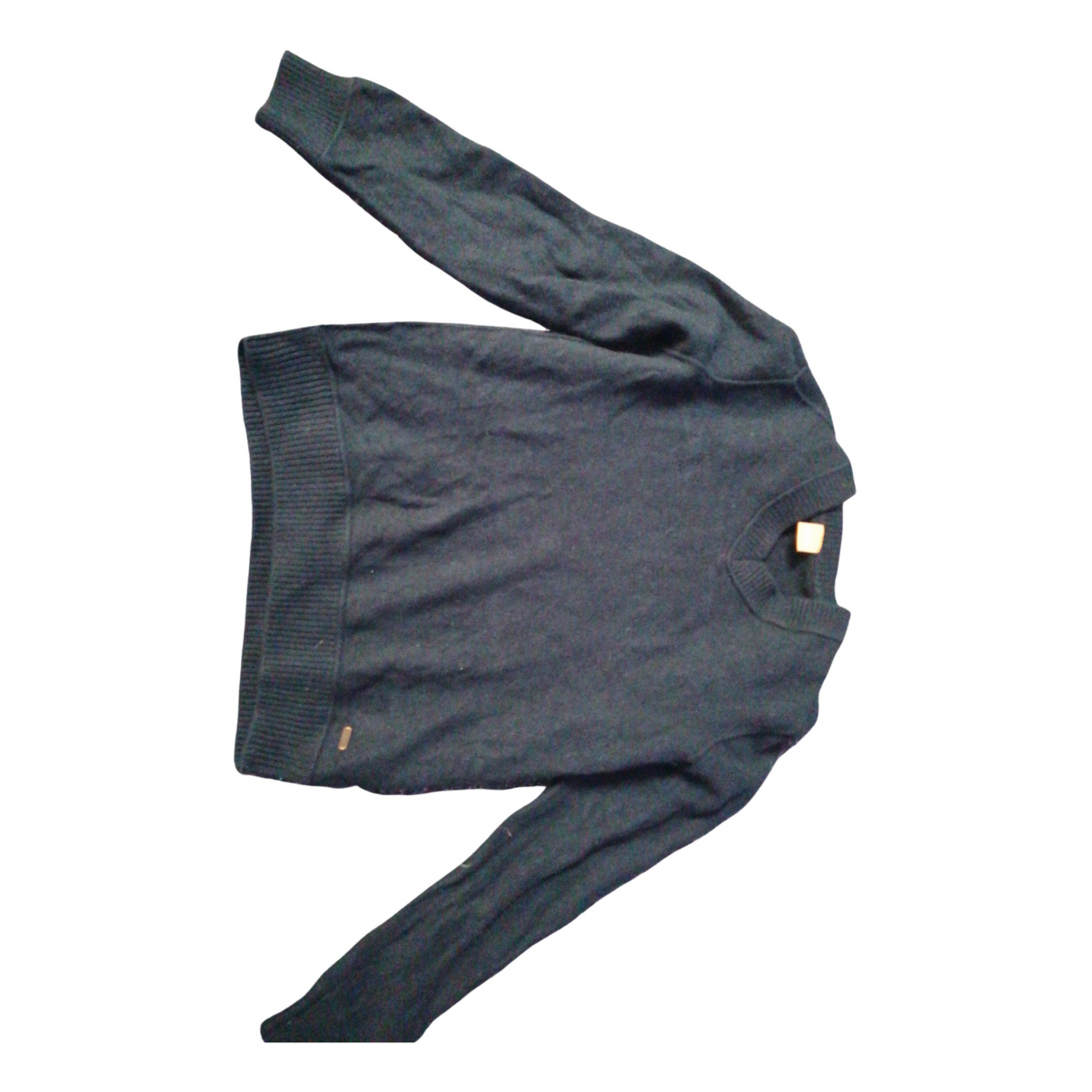 Boss \N Pullover.Westen.Sweatshirts  in  Schwarz Kaschmir