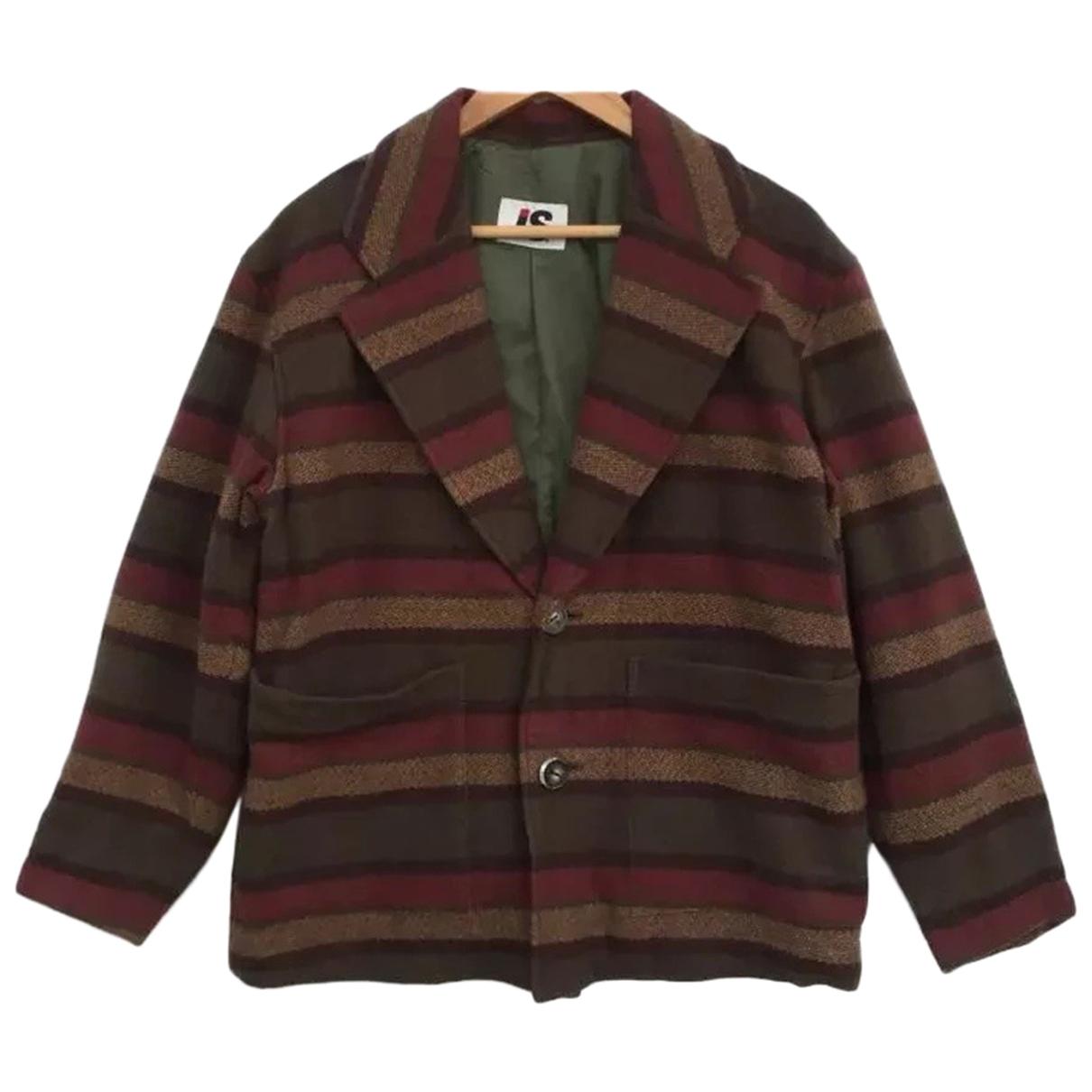 Issey Miyake \N Multicolour Wool jacket  for Men M International