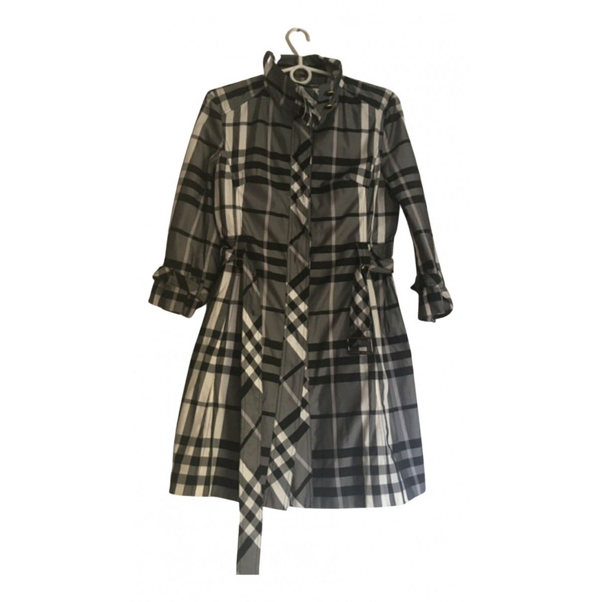 Burberry - Manteau   pour femme - gris