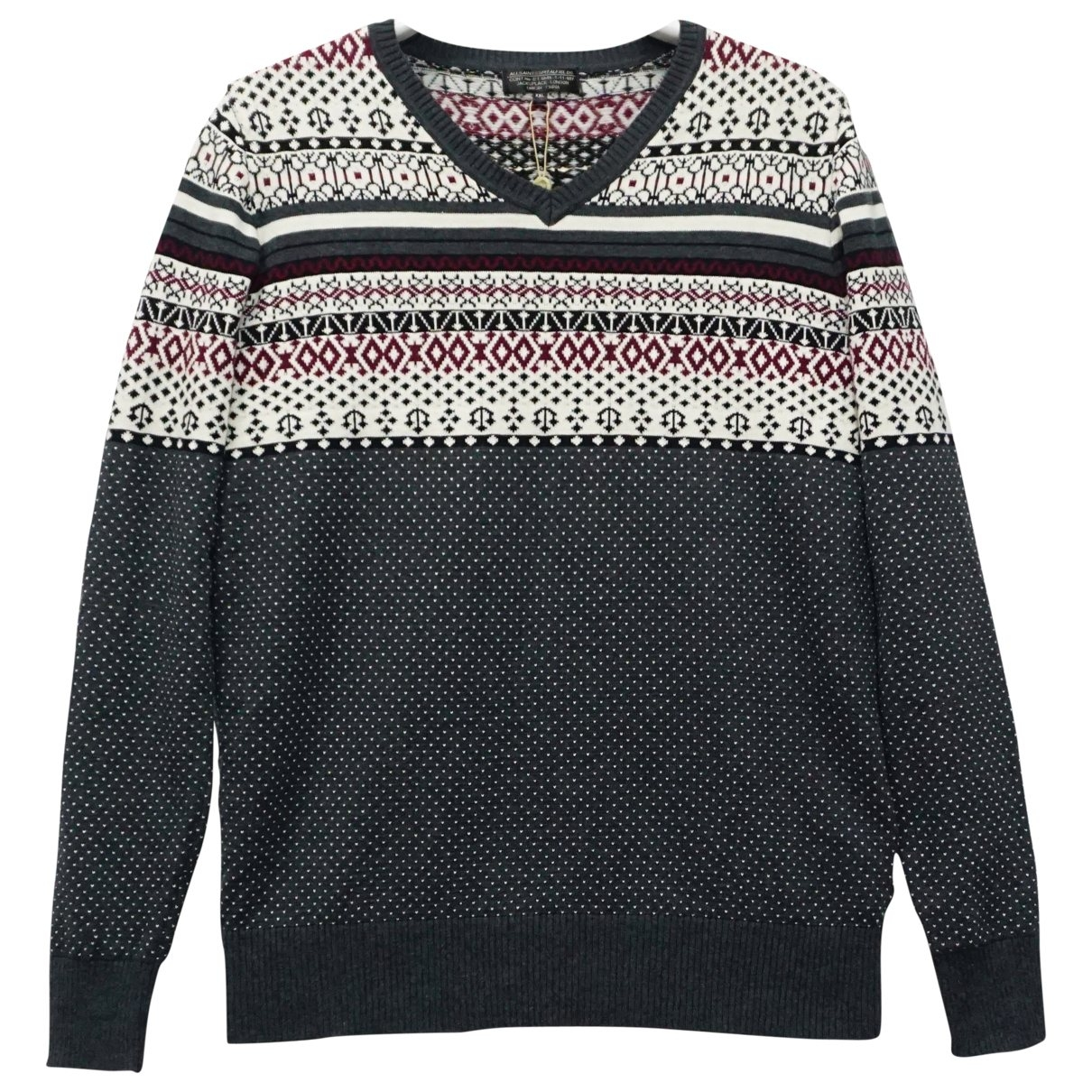 All Saints \N Pullover.Westen.Sweatshirts  in  Bunt Baumwolle