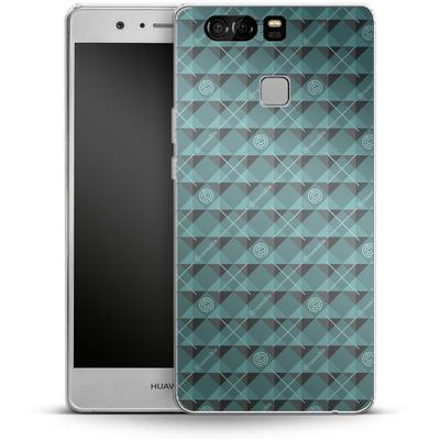 Huawei P9 Silikon Handyhuelle - caseable Pattern von caseable Designs