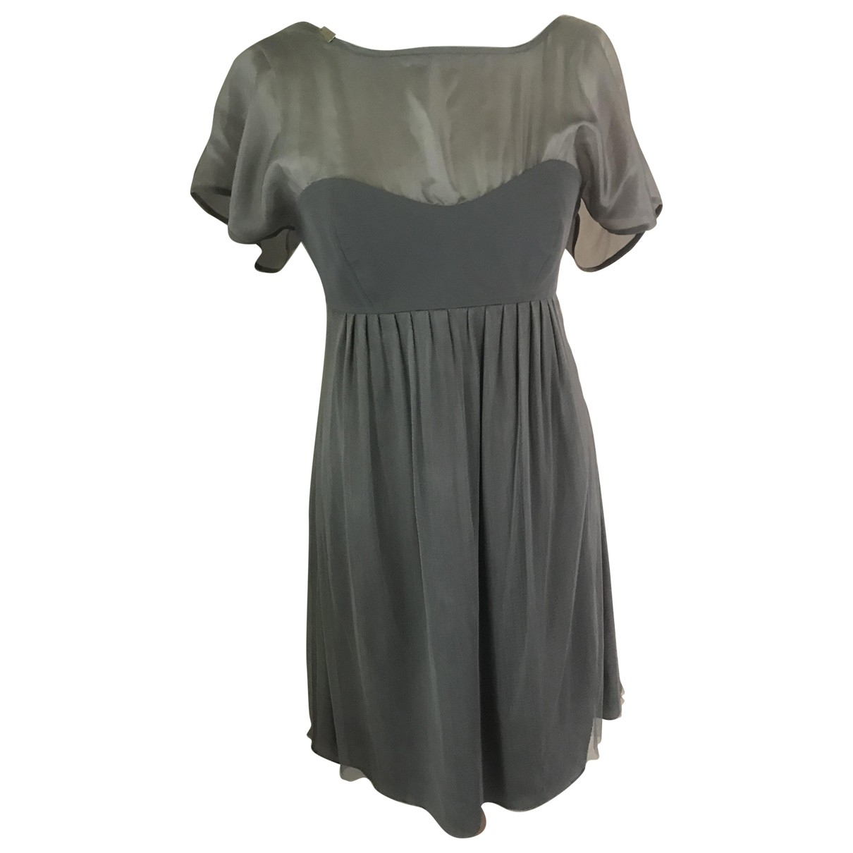 Mini vestido de Seda Elisabetta Franchi