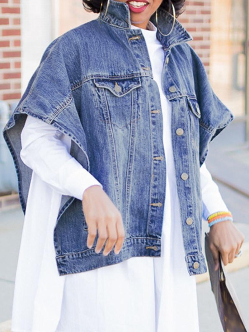 Ericdress Loose Short Sleeve Standard Batwing Sleeve Jacket