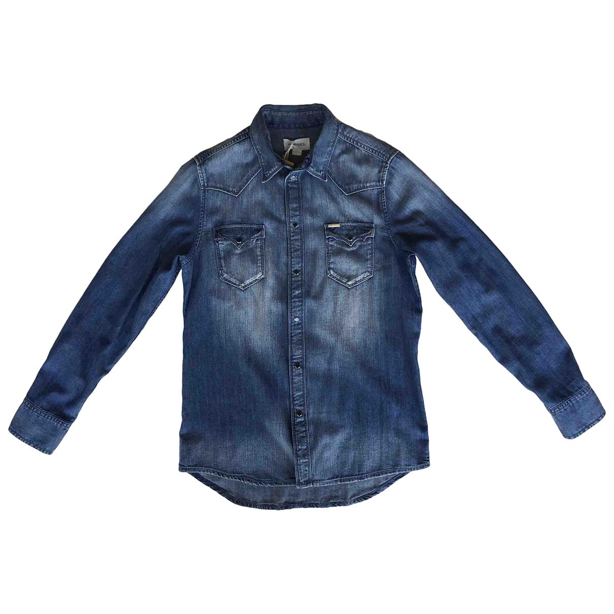 Diesel \N Oberteile in  Blau Denim - Jeans
