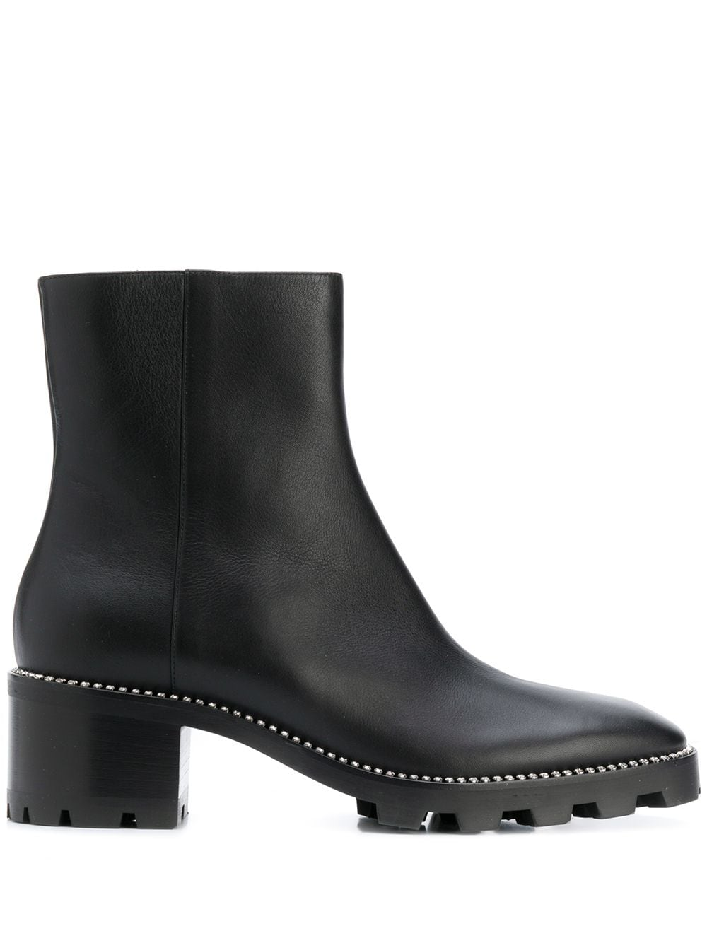 Mava Leanther Ankle Boots