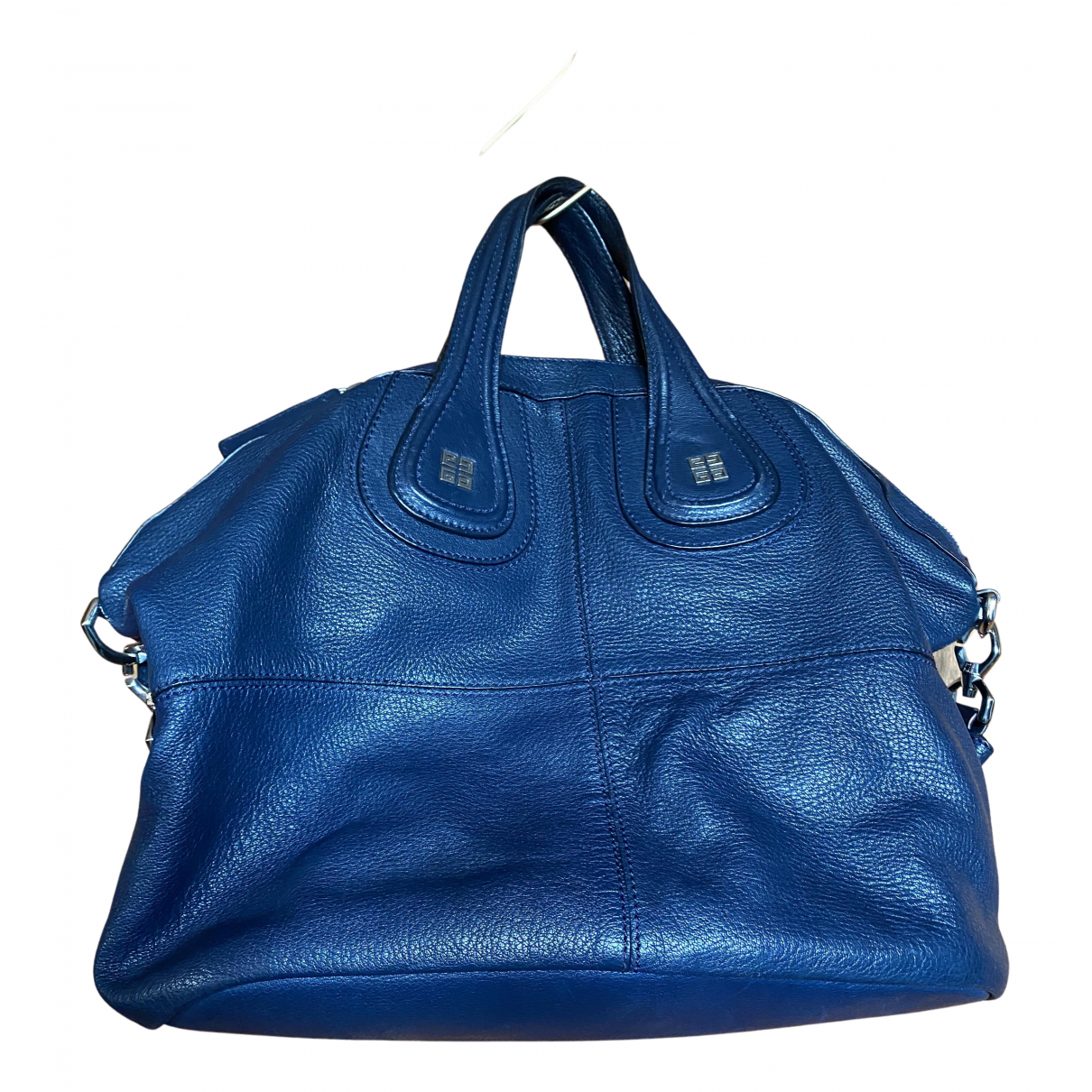 Givenchy Nightingale Handtasche in  Blau Leder