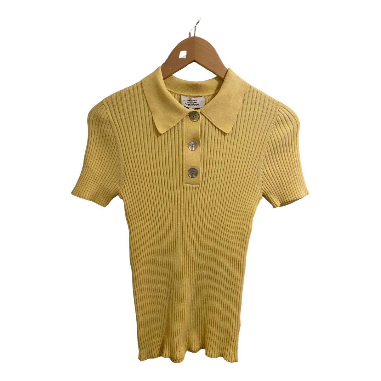 & Stories \N Yellow Cotton  top for Women S International