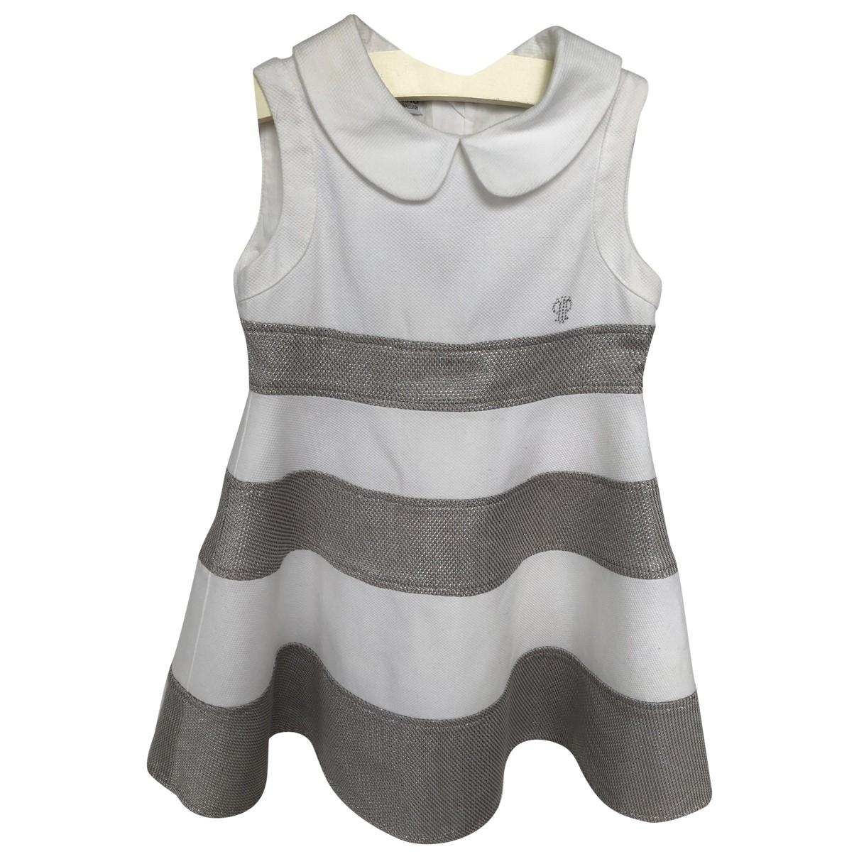 I Pinco Pallino - Robe    pour enfant en coton - blanc
