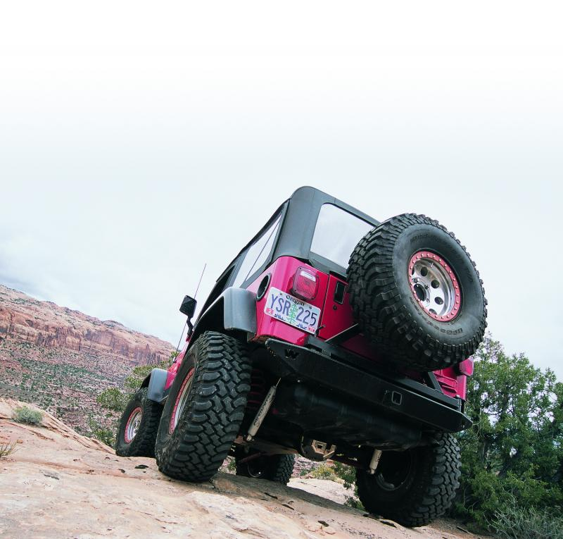 Warn Direct-Fit Grille Guard w/External Winch Mount Powder Coated Black Steel Jeep Wrangler 1997-2006