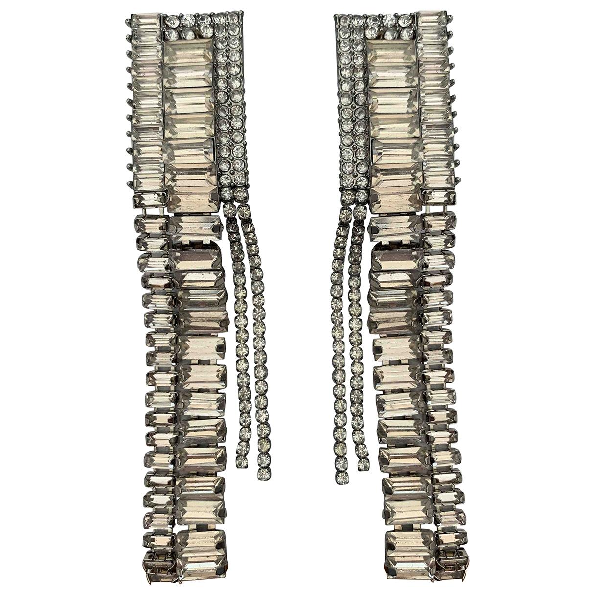 Zara \N OhrRing in  Metallic Kristall