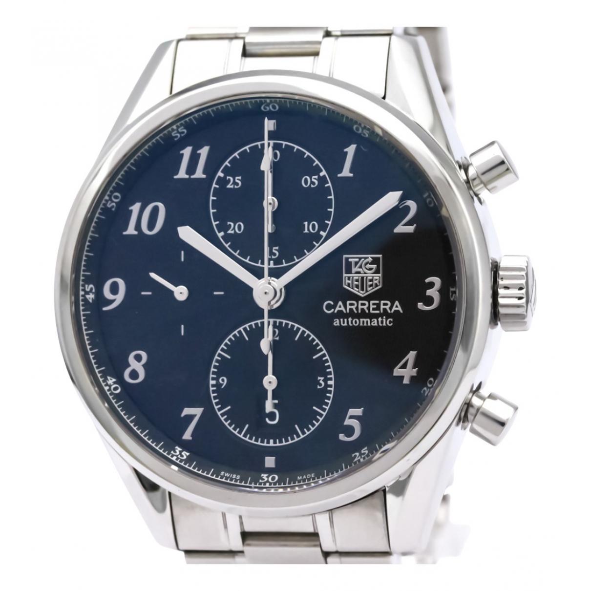 Tag Heuer Carrera Black Steel watch for Men N