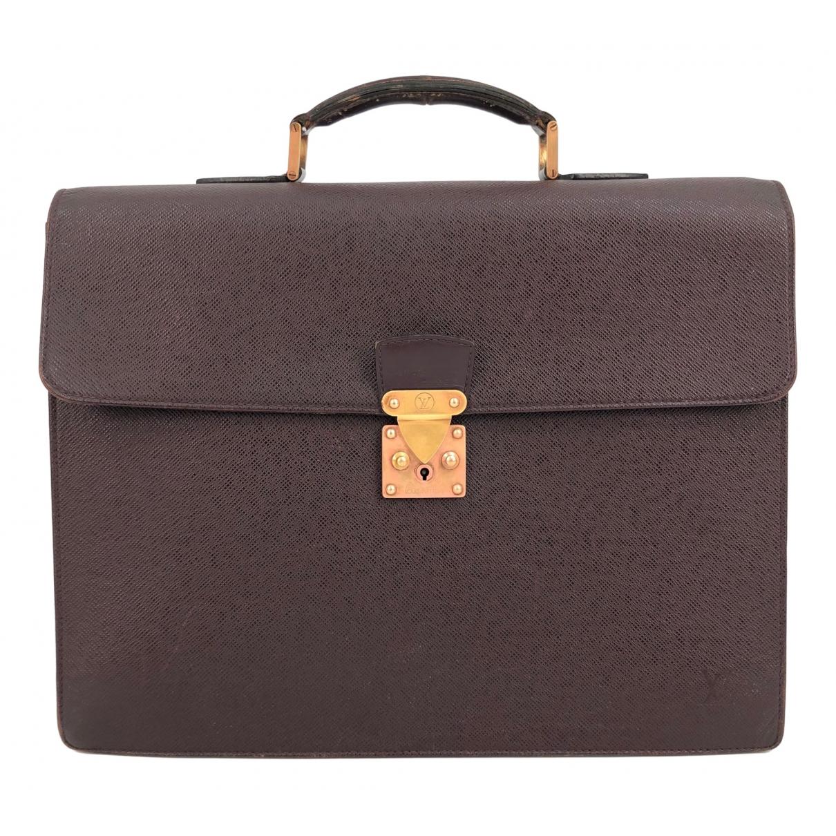 Louis Vuitton N Brown Leather bag for Men N
