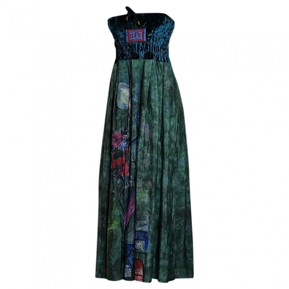 Stella Jean \N Kleid in  Gruen Polyester