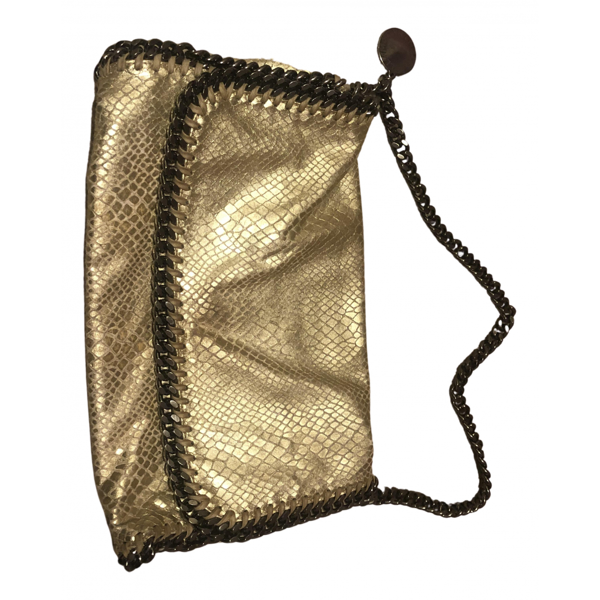 Stella Mccartney Falabella Gold Cloth handbag for Women N