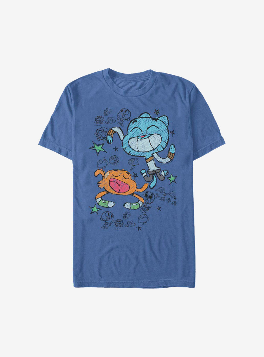 The Amazing World Of Gumball Scribble Boys T-Shirt