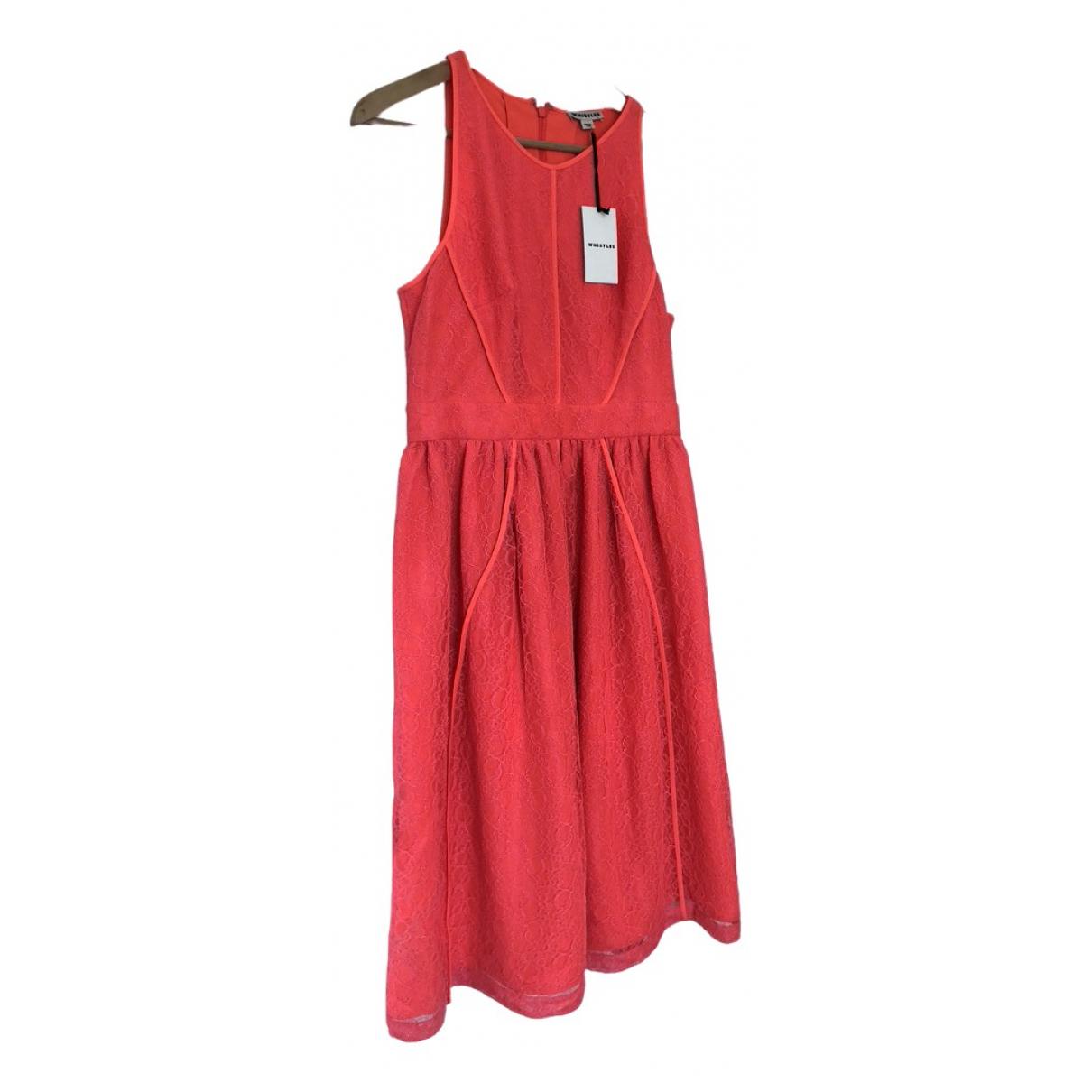Whistles \N Kleid in  Orange Polyester