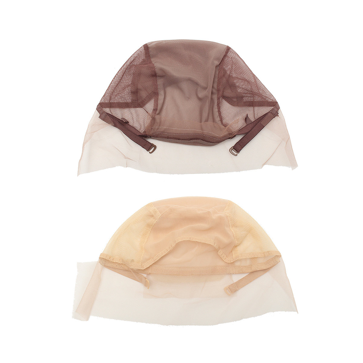 Mesh Lace Front Wig Cap Base For Making Wigs With Adjustable Strap Hairnets Styling Tool