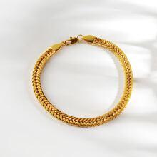 Men Simple Chain Bracelet